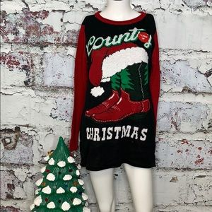 Sweaters - Ugly Christmas Sweater country Christmas